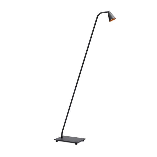 Stays-Vloerlamp-Mat-zwart-koper