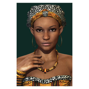 Mondiart-Young-African-woman