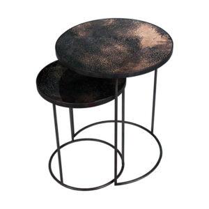 Notre-Monde-Nesting-bijzettafel-Bronze---set-van-2