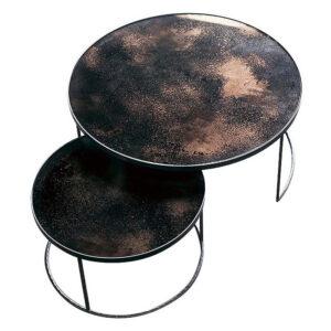 Notre-Monde-Nesting-salontafel-Bronze---set-van-2