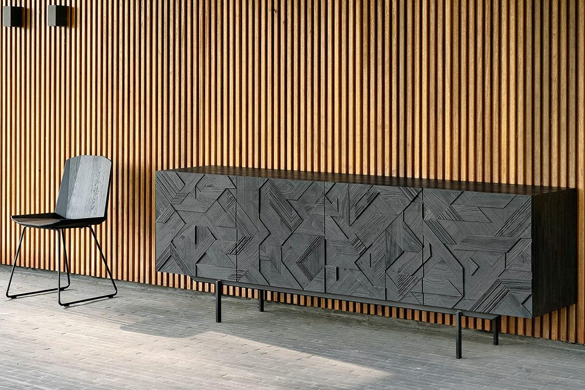 Graphic-dressoir-224cm-Ethnicraft-1